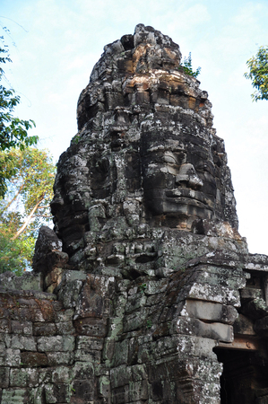 cambodge: Banteay Kdei Temple in siem reap ,Cambodia Stock Photo