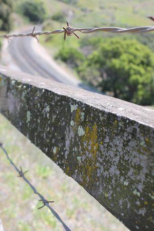 Barbed Boundary Reklamní fotografie