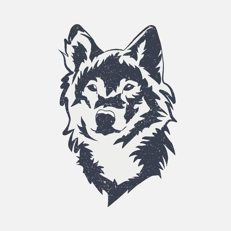Icona del lupo selvaggio.