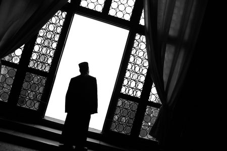 a righteous person: Monk at the Window