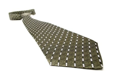 Tie an arrow with a simple pattern, isolated on white, (look similar images in my portfolio) photo