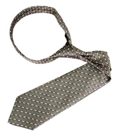 Tie - the arrow with a simple pattern, isolated on white, (look similar images in my portfolio) photo