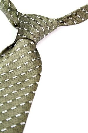 Tie - a personal accessory of the businessman, isolated on white, (look similar images in my portfolio) photo