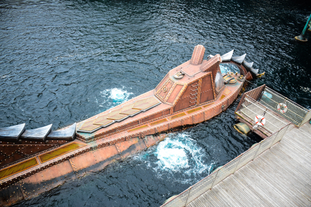 jones: CHIBA, JAPAN - MAY, 2016: Mysterious Island attraction in Tokyo Disneysea located in Urayasu, Chiba, Japan