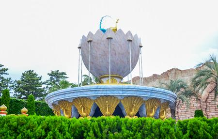 CHIBA, JAPAN - MAY, 2016: Arabian Coast attraction area in Tokyo Disneysea located in Urayasu, Chiba, Japan