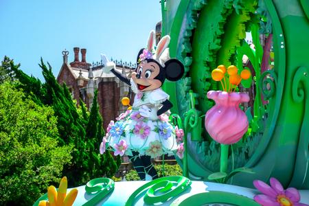 duck egg: CHIBA, JAPAN: Tokyo Disneyland easter daytime parade Urayasu, Japan Editorial
