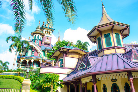 HONG KONG DISNEYLAND: Mystic Manor, the mystery house Editorial