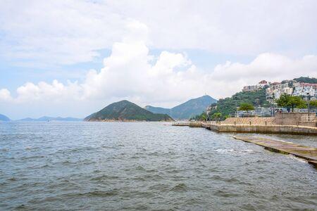 Beautiful Repulse Bay landscape, the famous tourist destination in Hong Kong island Foto de archivo - 133743127