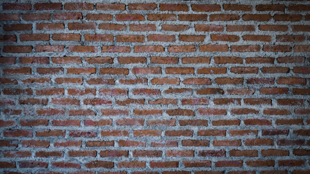 old red brick wall texture background.red brick wall texture grunge background  interior design. Reklamní fotografie
