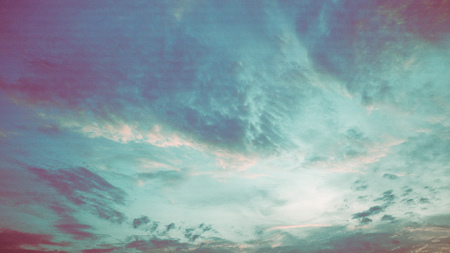 Blue and green grunge background , Summer evening atmosphere. Soft colored abstract background summer. Gorgeous Panorama twilight sky and cloud at morning background image. Background colorful pastel smooth soft