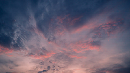 Soft colored abstract background summer. Gorgeous Panorama twilight sky and cloud at morning background image. Background colorful pastel smooth soft