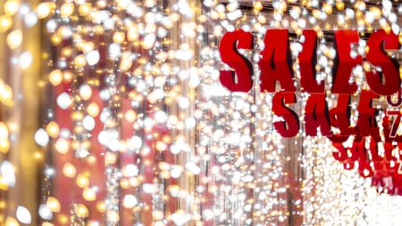 store discount sign . shopping sale background . Red sale background. Shine backdrop for flyer, poster, shopping, for sale sign, discount, marketing, selling, banner, web, header. Abstract golden