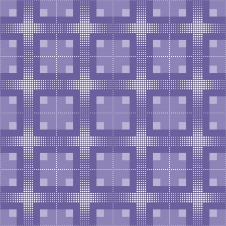 strip structure: Seamless texture or background with image of check and square Illustration