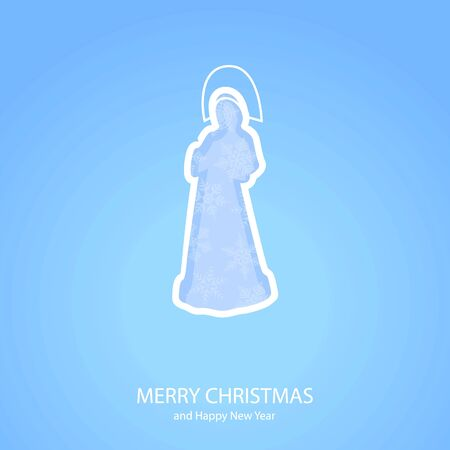 snow maiden: Symbols of Christmas and New Year of form Snow Maiden