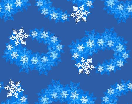 Texture and background are turned snow