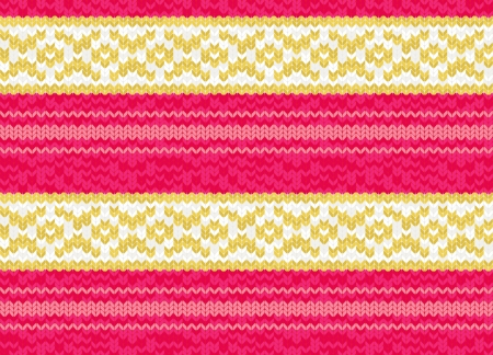 Background or texture connected striped pattern Illustration