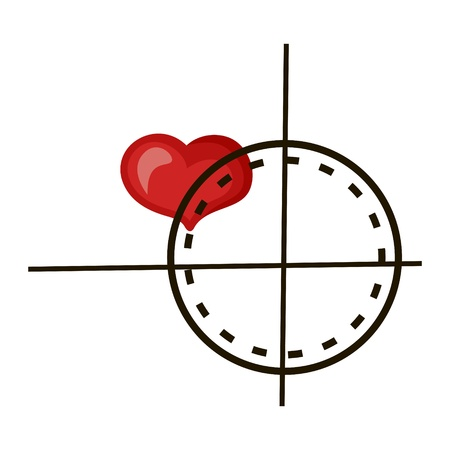 induced: On heart the sight for exact hit is induced