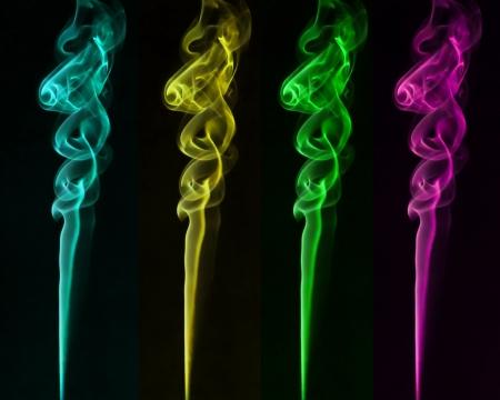 colorful smoke Stock Photo - 14690551