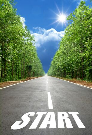 road start Stock Photo - 15355824