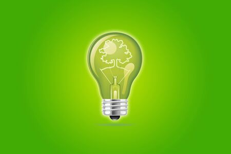 green eco icon Stock Photo - 16599757