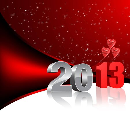 new year 2013 3d Stock Photo - 16855750