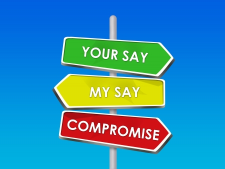 verschillen: Compromis - Settling Onze Verschillen in overeenkomst