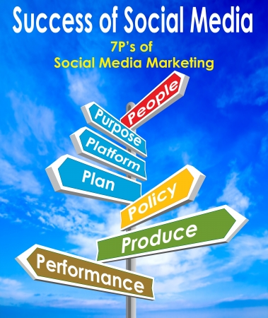 Success of Social Media Stock Photo - 16975751