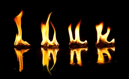 Love of fire Stock Photo - 22008091
