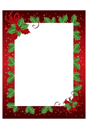 color photo: christmas photo frame