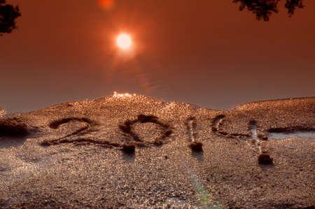 2014 on sand