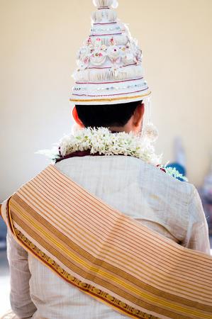 bengali: Bengali wedding groom Stock Photo
