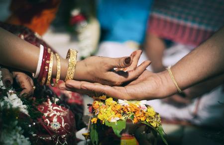 Indian wedding rituals photo