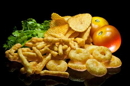 snacks Stock Photo
