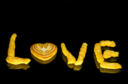 love with snacks