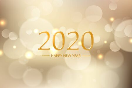 Happy new year 2020 wallpaper greeting