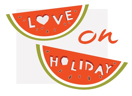 love on holiday concept