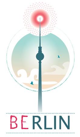 tv tower: tv tower of Berlin