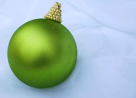 single christmas ornament in lime green stock photo 536350 - Lime Green And Blue Christmas Decorations