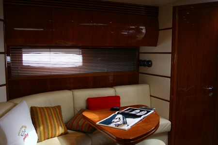 This is an interior of yacht  Stock Photo - 1559264