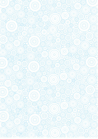 lineart: Circle lineart background