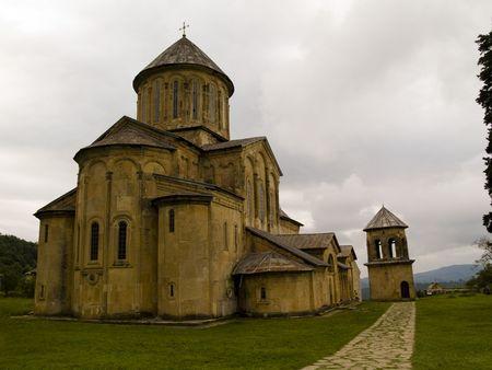 Old orthodox  monastery Gelati near Kutaisi - Georgia. Unesco place.