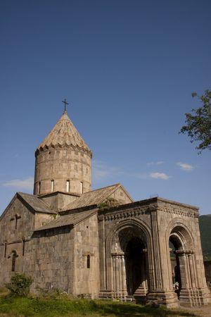 Armenia, Tatev old monastyr, blue sky, summer day. Stock Photo - 5379137