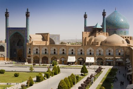 Sheikh Lotf Allah Mosque in Esfahan - Iran, Summer day