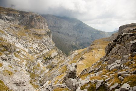 Big and beauty Canyon Anisclo in Ordesa National Park - Spain. Stock Photo - 6814531