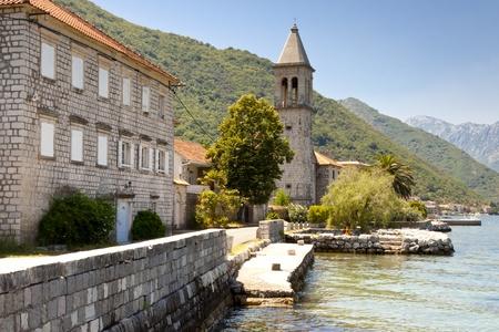 Beauty sea, summer day in Montenegro. Bay of Kotor - UNESCO. Stock Photo - 10871135