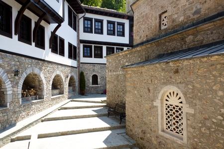 Sv. Jovan Bigorski ancien monast�re. Mac�doine, Balkans.