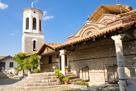 Entry to Sv. Bogorodica church in Ohrid town - Macedonia. Stock Photo - 11858474