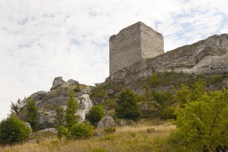 jura: Old ruins - castle in the Jura region, Poland, Silesia