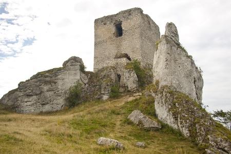 View on old fortification - Olsztyn, Poland, Silesia  Stock Photo - 15294669