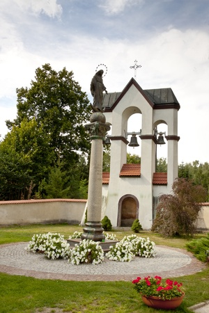 Figure - Mother of God in sanctuary in Lesniow, Poland, Silesia. Stock Photo - 15396470